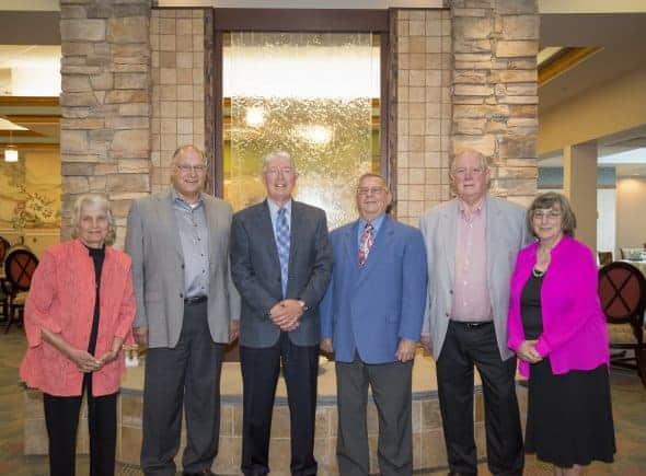 Margee Kooistra, Carl Ginder, Roger Sider, Ed Kapp, Larry & Joanne Klase.
